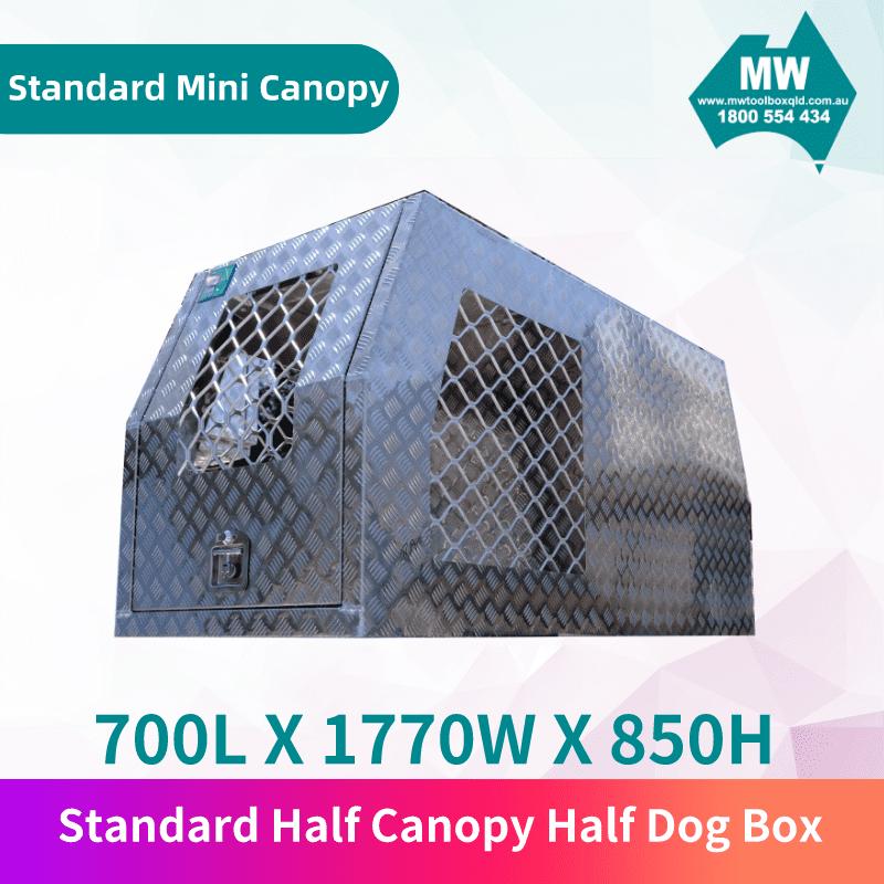 Half Dog Box Half Mini Canopy-1