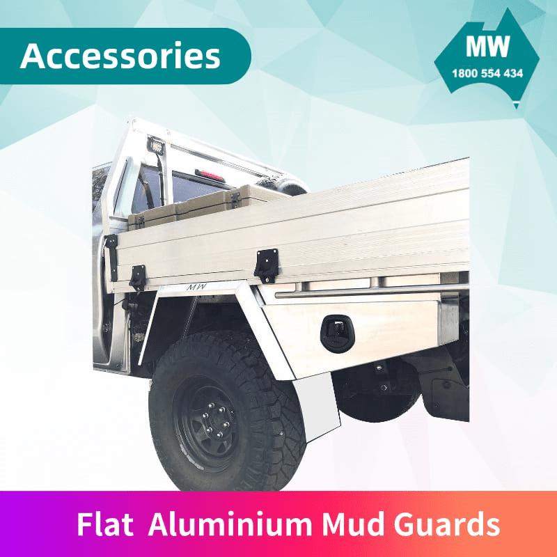 Flat-Aluminium-Mud-Guards