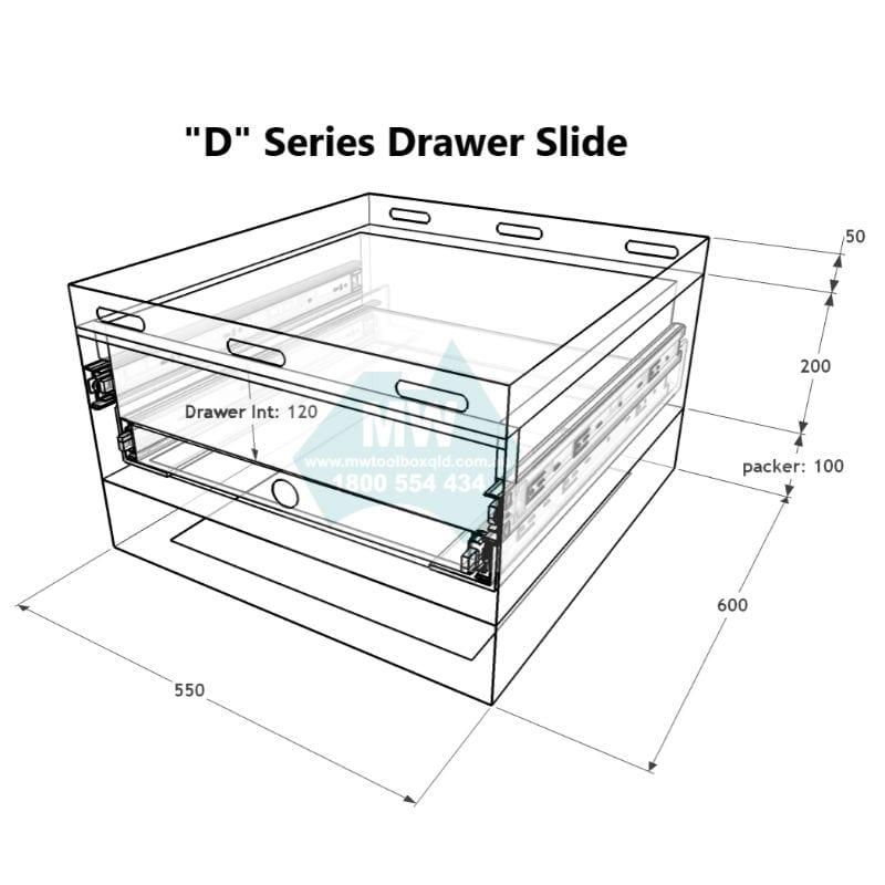 """D"" Series Drawer Slide-7"