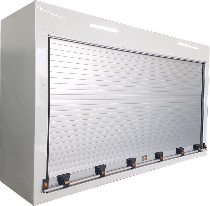 Roller door toolbox for truck-1