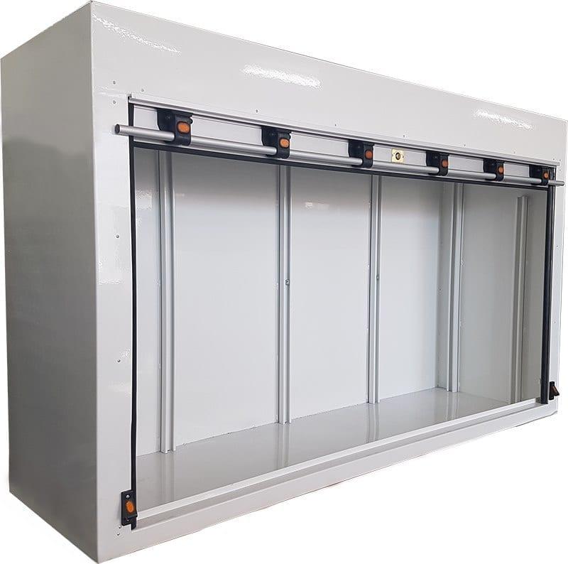Roller door toolbox for truck-2